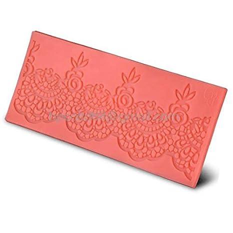 Directo de fábrica 3d molde de silicona chocolate fondant decoración de pasteles herramientas de arte DIY herramientas encaje CD-F171: Amazon.es: Hogar
