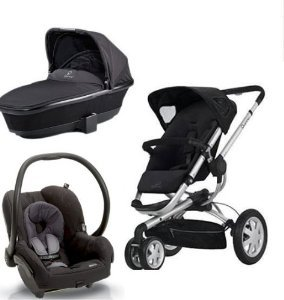 Amazon.com : Quinny Buzz Stroller WITH Tukk Bassinett and Maxi ...