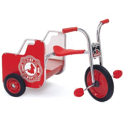 Angeles SilverRider Toddler Kids Children Fire Truck Trike Bicycle Cargo by AngelesStore ()