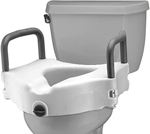 - NOVA Medical Products Locking Raised Toilet Seat with Detachable Arms, 5