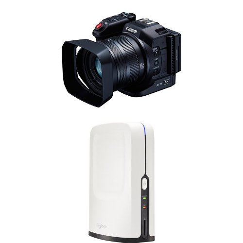 Canon XC10 Professional Camcorder Body Only with HD Video Switcher for Multi-Camera Production, and Live Streaming