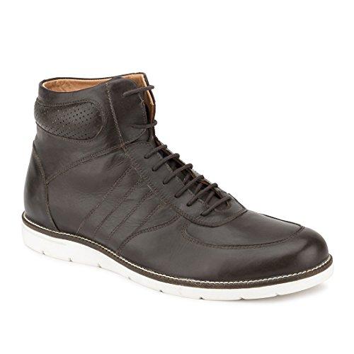 Gekko Mens Shoes-300 - Zapatos de Cordones de Ante Para Hombre Marrón Marrón 44