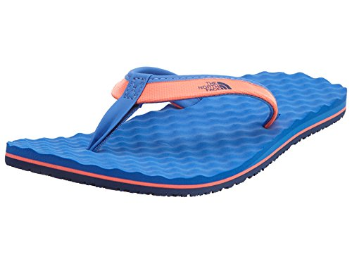 's Base Camp Mini Tropical Coral/Dunkel Blue Sandal 6 B - Medium ()