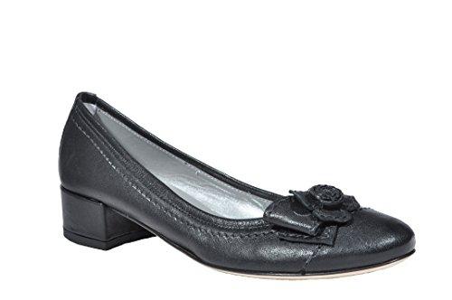 Piel mujer negro Giardini Bailarinas Nero 37 de Negro negro para xv4OBq7t