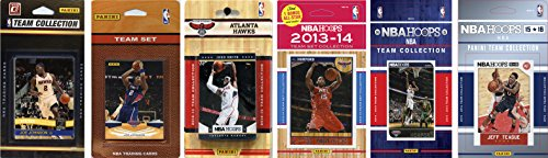 NBA Atlanta Hawks 6 Different Licensed Team Set Trading Card ()