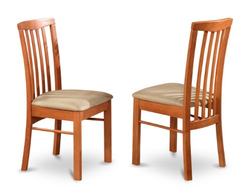 East West Furniture HLC-CHR-C Kitchen/Dining Chair Set with