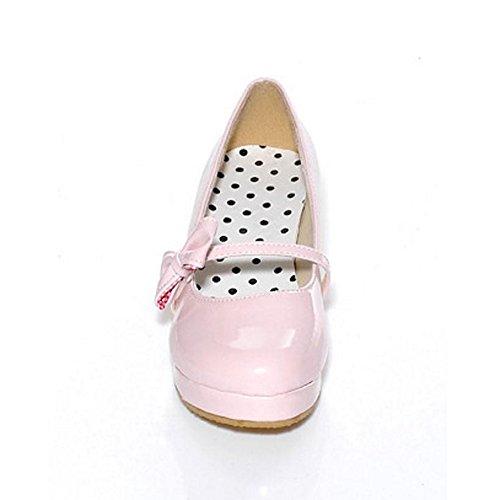 Cute Shoes Pink TAOFFEN 6315 Flatform Women's pzSqx5waZ