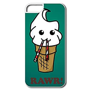 Custom Made Cool Case Funny Ice Cream For IPhone 5/5s