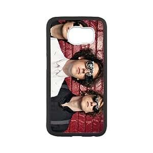 Samsung Galaxy S6 Cell Phone Case Covers White The Wombats CVXEYERTE30754 Plastic Unique Phone Case