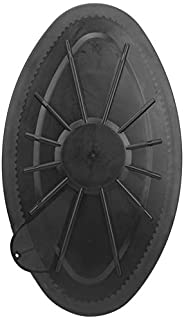 Deck Hatch Cover,Waterproof Round Hatch Cover Plastic Deck Inspection Plate for Marine Boat Kayak Canoe