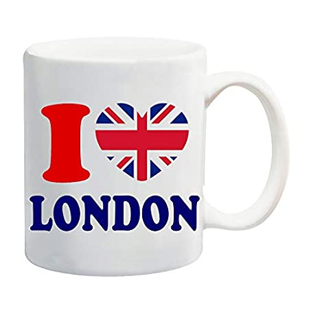 I Love Heart London Mug Gift Present Souvenir 41y3PdYpDwL