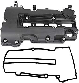 Camshaft Engine Valve Cover /& Gasket Set Compatible with 2011-2019 Chevy Cruze Volt Trax Buick 1.4L Part No.55573746 25198874