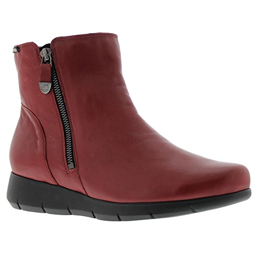 Womens Boots Mobils Dorine Oxblood Leather fCCdwq