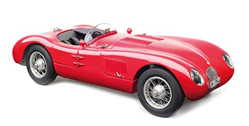 1952 Jaguar C-Type XKC 023 Red Limited Edition to 1,000 Pieces Worldwide 1/18 Diecast Model Car by CMC 193
