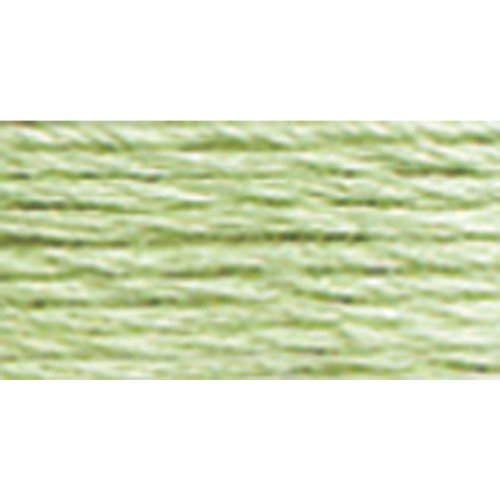 Dmc 117 369 Mouline Stranded Cotton Six Strand Embroidery Floss Thread  Light Pistachio Green  8 7 Yard