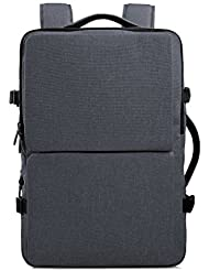 Cai 17.3  Business Alien Laptop Backpack Multifunctional Water-Resistant Computer Bag Double Compartments Rucksack...