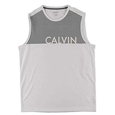 Calvin Klein Performance Mens Jersey Sleeveless Pullover Top