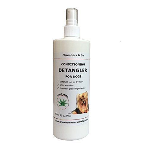 Chambers & Co Conditioning Detangler with Aloe Vera for Dogs by