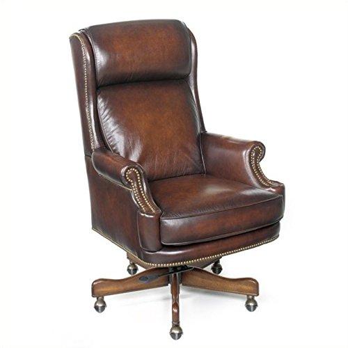 Hooker Furniture Kevin Executive Swivel Tilt Chair, Brown