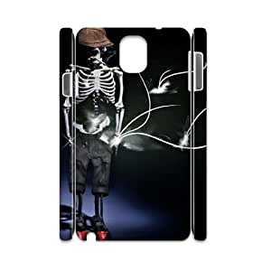 Skeleton CHA9061640 3D Art Print Design Phone Back Case Customized Hard Shell Protection Samsung galaxy note 3 N9000