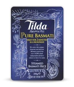 Tilda - Pure Basmati Rice - 250g (Case of 6) by Tilda