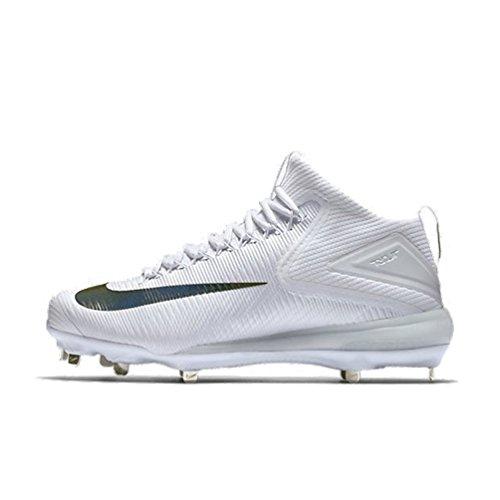Nike Zoom Truite 3 Hommes Crampons De Baseball Blanc (us)