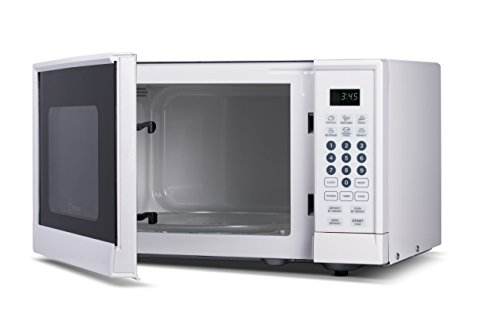 Westinghouse WCM990W 900 Watt Counter Top Microwave Oven, 0.9 Cubic Feet, White Cabinet (Microwave Oven Small White compare prices)