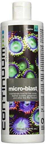 Continuum Aquatics Micro-Blast, invertebrate for live corals, feather dusters, gorgonians, & other fine filter feeders, 500ml from Continuum Aquatics