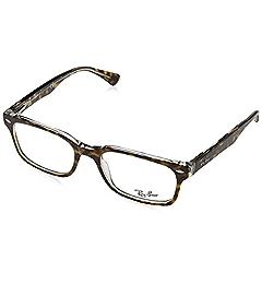 8844b488ed7c1 Amazon.com  Ray-Ban Women s 0rx5286 No Polarization Square Prescription  Eyewear Frame