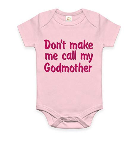 Don't make me call my godmother baby onesie godmom infant one piece