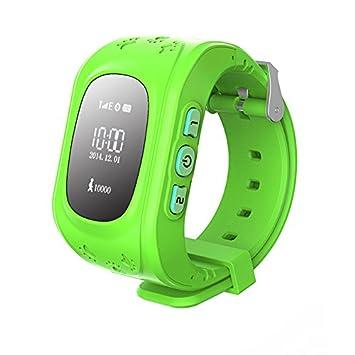 PRIXTON Watchii G100 - Smartwatch Reloj localizador para niños con GPS Verde: Amazon.es: Electrónica