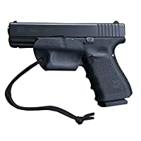 BASTION Minimalist Tactical Kydex Trigger Guard Holster with Paracord for Glock Models