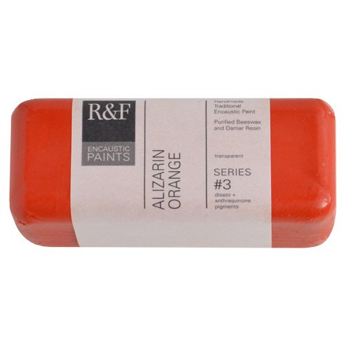 R&F Encaustic 104ml Paint, Alizarin Orange