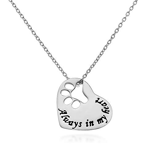 Sterling Silver Dog Pendant - 925 Sterling Silver