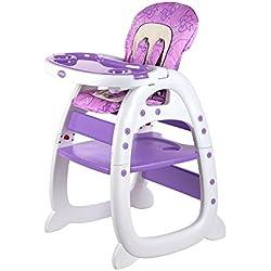 Purple High Chairs