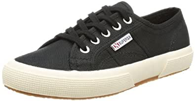 Superga 2750 Cotu Classic - 5, Zapatillas, Unisex, Negro (Full Black S996), 35