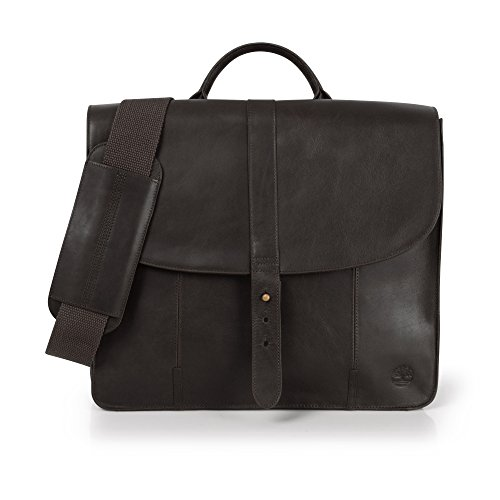 Timberland Calexico Briefcase, Black, One Size by Timberland