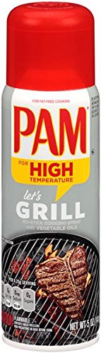 PAM Grilling No-Stick Cooking Spray, 5 oz, 3 pk - Pam Non Stick Spray