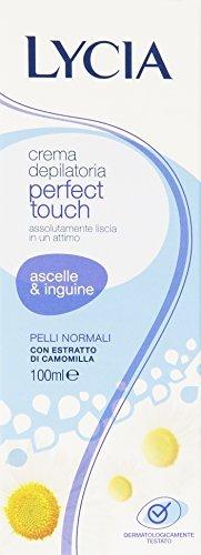 crema depilatoria per ascelle ed inguine delicata 100 ml by Lycia