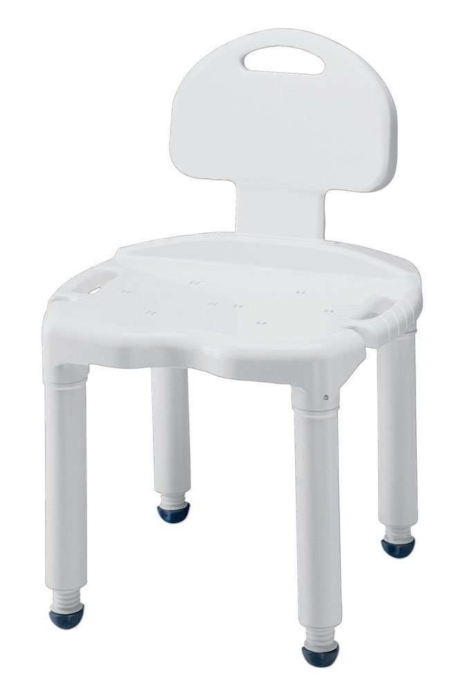 Amazon.com: Heavy-Duty Carex Bath and Shower Seat with Back: Health ...