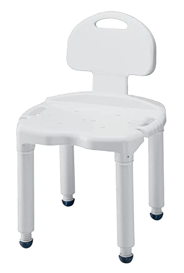 Amazon.com: Heavy-Duty Carex Bath and Shower Seat with Back ...