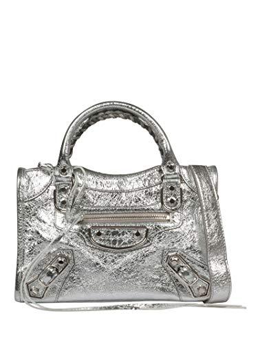 Luxury Fashion | Balenciaga Womens 39016006CJN8110 Silver Handbag | Fall Winter 19