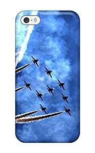 Perfect Iphone 5/5s Case Tpu Cover Back Skin Protector The Air Fight Force
