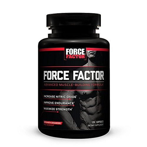 Force Factor - Pre-Workout Nitric Oxide Booster - 120 Capsules