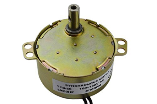 Price comparison product image TYD50 Synchronous Motor 110V AC 7.5-9RPM CCW Fixed Rotation 4W Torque 6Kgf.cm