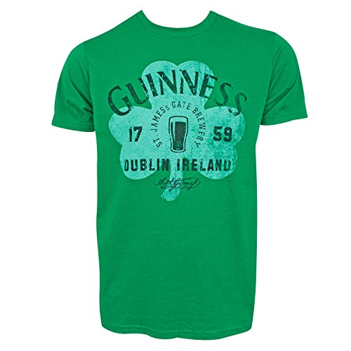 Guinness Clover - Guinness Clover Tee Shirt Large