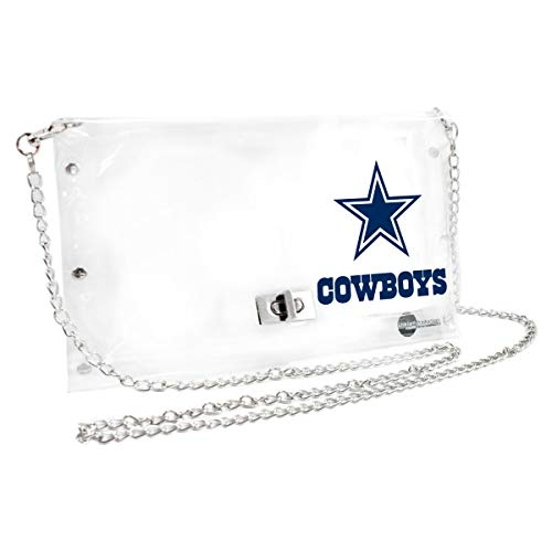 NFL Dallas Cowboys Clear Envelope Purse