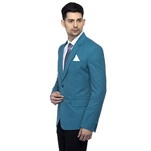 41y3Ykbyp L. SS500  - Favoroski Men's Blazers - Turkish Green