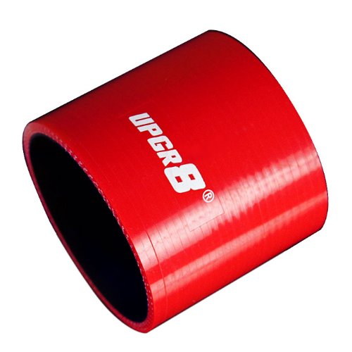 (Upgr8 Universal 4-Ply High Performance Straight Coupler Silicone Hose 76mm Length (3.0