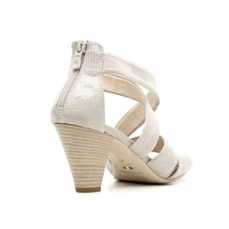 Nero Giardini - Sandalias de vestir de Piel para mujer beige beige 40 Betty Savana